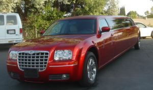 Chrysler 300C Red